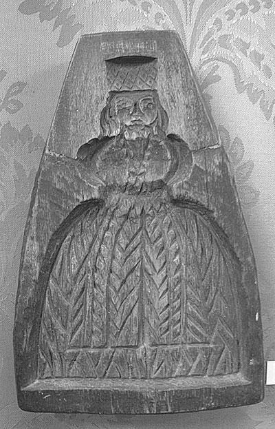 Пряничная доска из коллекции музея «Ростовский кремль»