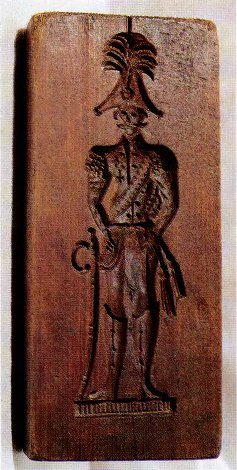 Тверская пряничная доска. 40-е годы XIX века