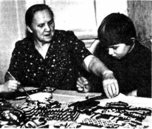 С.Г. Питателева с внучкой