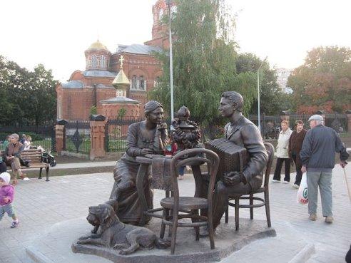скульптура чаепитие